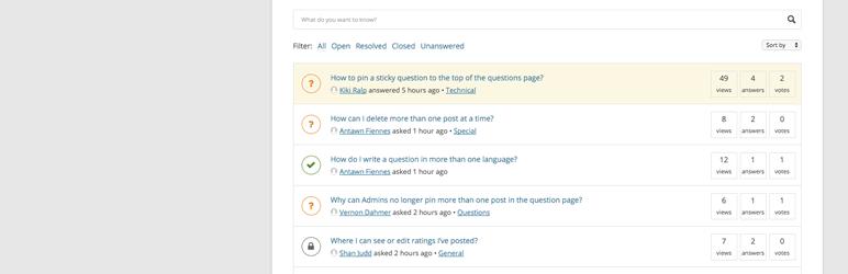 DW Question Answer 1.5.7问答插件汉化包